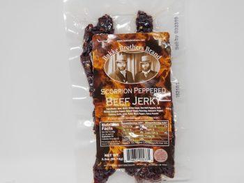 Buy Beef Jerky Online Scorpion Peppered SUPER HOT