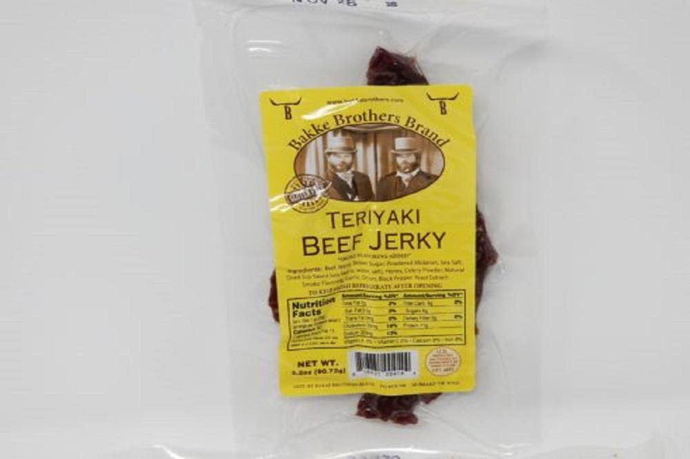 Bakke Brothers Best Beef Jerky Teriyaki