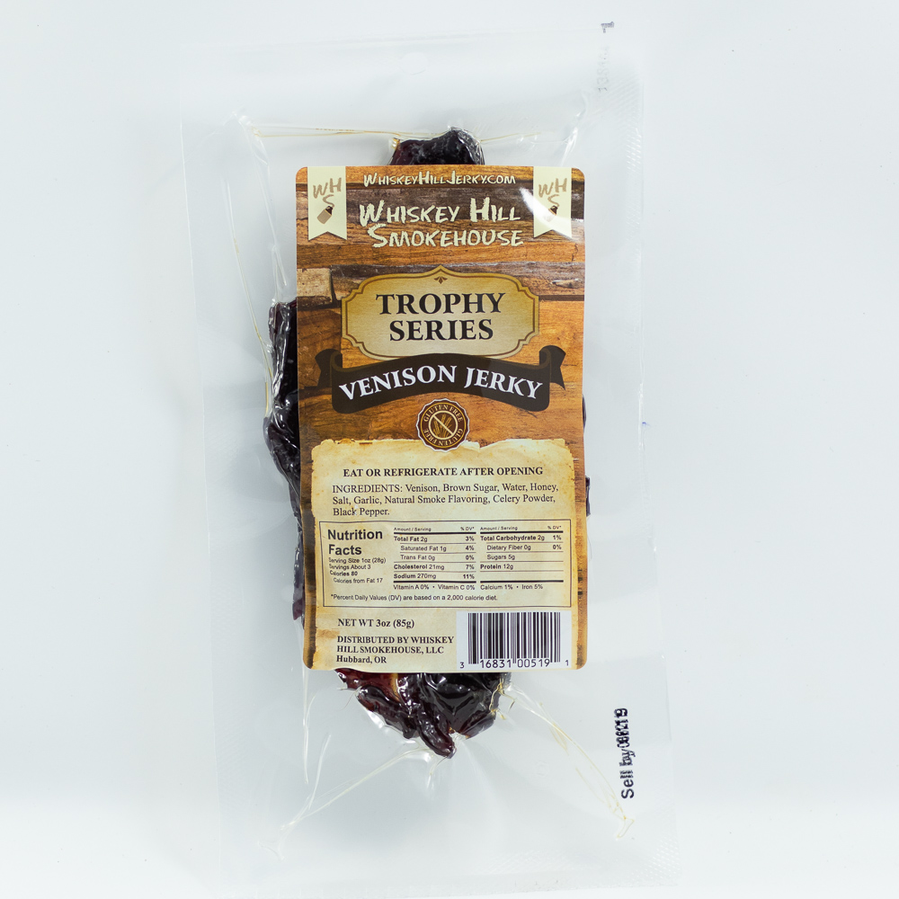Deer Jerky For Sale 3 oz Single
