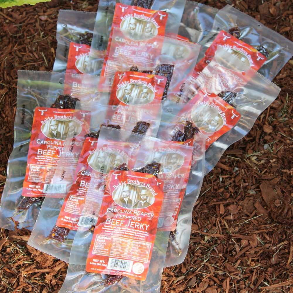 Carolina Reaper Beef Jerky 10 Pack Wholesale Beef Jerky