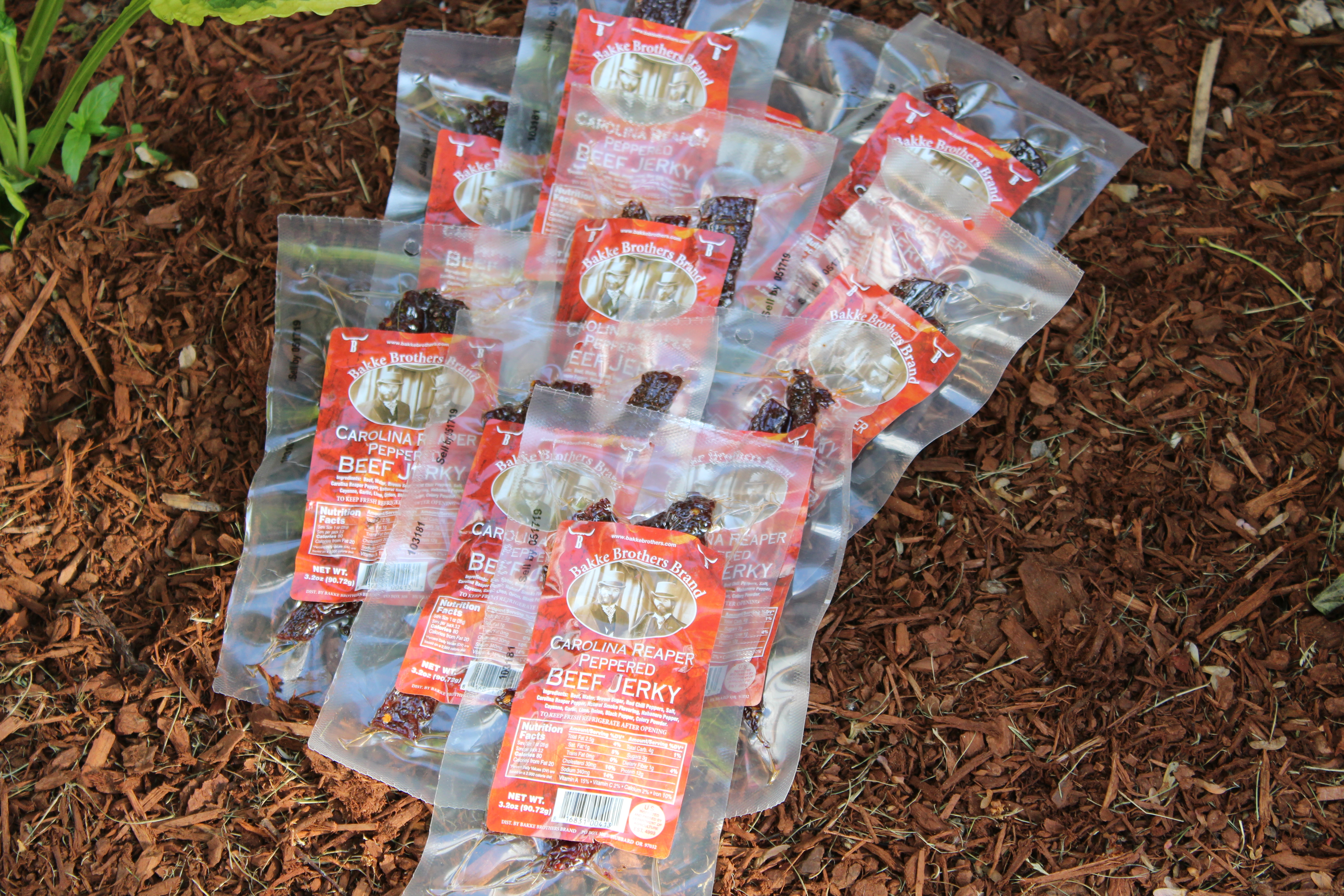Carolina Reaper Beef Jerky 10 Pack Wholesale Beef Jerky