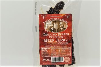Carolina Reaper Beef Jerky Bakke Brothers 1 Pack