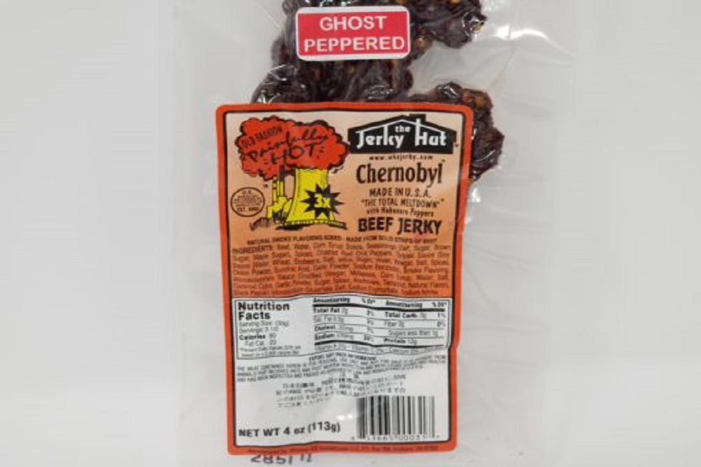 Jerky Hut Best Beef Jerky Chernobyl Ghost Pepper