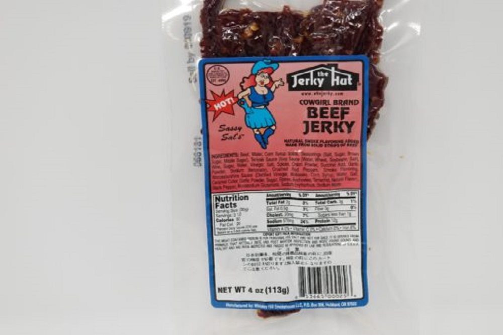 Jerky Hut Best Beef Jerky Spicy