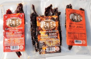 Carolina Reaper Beef Jerky SCORPION PEPPER beefjerky Ghost Pepper Beef Jerky145
