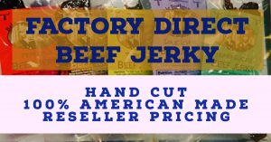 Bulk beef jerky factory direct reseller pricing